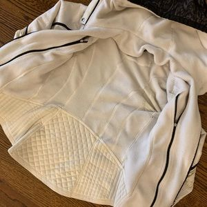 lululemon athletica Jackets & Coats - Lululemon Run: Bundle Up Polar Cream/ Black 2/4